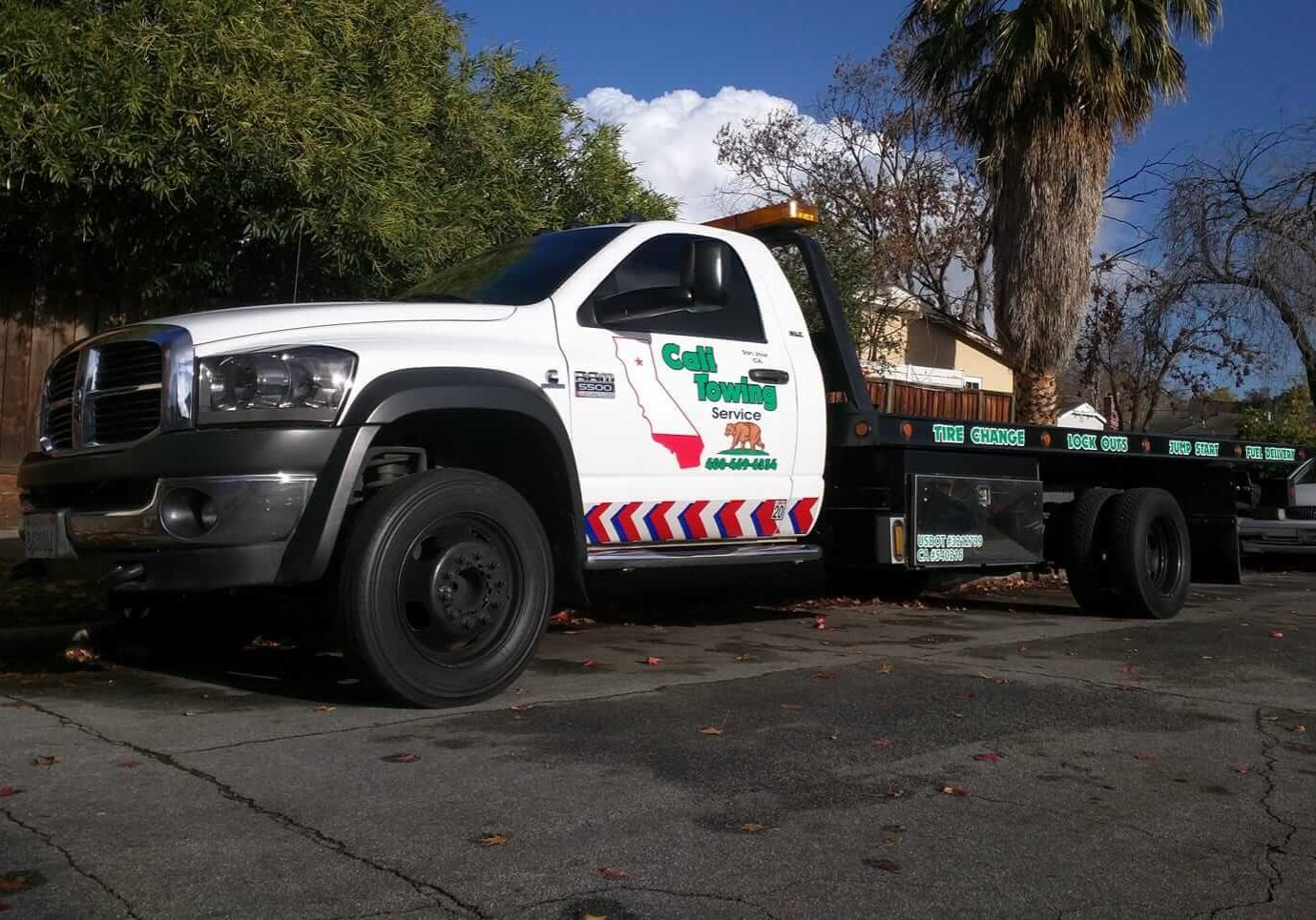 Cali Towing Service - Towing and Roadside Services in San Jose, CA